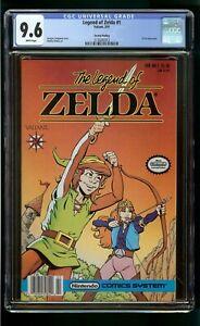 LEGEND ZELDA #1 (1991) CGC 9.6 1st APPEARANCE of ZELDA VALIANT