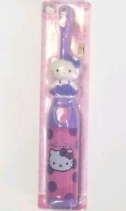 NEW Zooth Hello Kitty Spin Brush Battery Power ToothBrush Purple