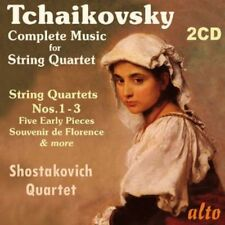 Tchaikovsky: Complete Music For String Q - Shostakovi (2013, CD NIEUW)2 DISC SET