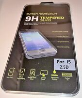 For iPhone 5 / 5C / 5S Tempered Glass Screen Protector Retail - Apple