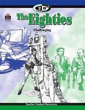 20th Century: The Eighties (1999, Paperback, New) workbook, home school resource