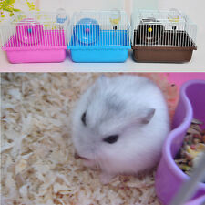 Portable Hamster Cage Pet shop Household Hamster Gerbil Small Pet Cage