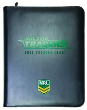 2018 NRL Traders Official Album & FULL Set of 160 Base Cards