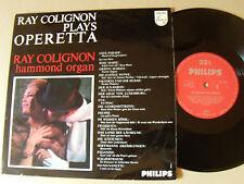 RAY COLIGNON, hammond organ, plays OPERETTA - 25 cm LP Dutch PHILIPS 11250 ACR