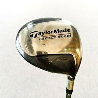 Taylormade 200-Steel Driver. 9.5, Stiff - Good Condition # T69
