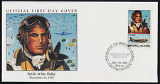 Marshall Islands 502 on FDC - WWII, C-47, Aircraft, Aviator
