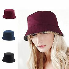 Chino Cotton Bucket Sun Hat Reversible Summer hat Mens or Ladies