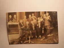 Kegelverein - Kegeln - Gruppenbild 1926 mit: Herr Pfrang ... / Foto Brückenau ?
