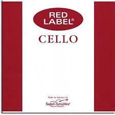 4/4 Red Label Medium Cello String Medium Set
