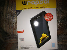 Wrapsol Screen Protector for Lenovo IdeaPad A1 NEW SEALED LOOK!!!