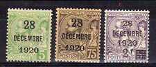 MONACO Yvert n° 48/50 neuf avec charnière MH