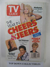 TV Guide  Dec. 26--Jan. 1   1993    The Year In Cheers & Jeers/Angela Gets Tough