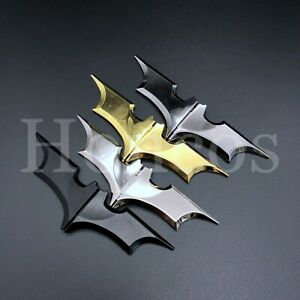Alloy Man Batman Batarang Money Clip Matt Black Stainless Steel Wallet Custom US