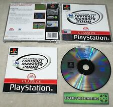 El F.A. Premier League Football Manager 2000-juego PS1 PS2 PS3 Playstation One