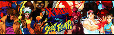 X-Men vs Street Fighter Arcade Marquee For Header/Backlit Sign