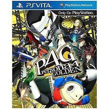 Persona 4 Golden P4g PlayStation PS Vita Atlus