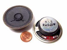 "2"" Inch Round Speaker 8 ohm 0.25 watt .25W - New Old Stock Japan 1970s' (1 pc.)"