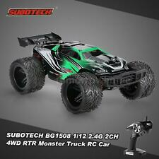 SUBOTECH BG1508 1/12 2.4G 2CH 4WD  High Speed Racing Monster Truck RC Car V6H1