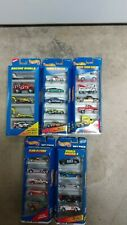 HOT WHEELS Racers Lot of 5 Gift Packs #18837,18828,17457,18834,25370 1996-98 New