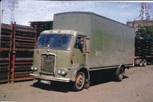 COL PHOTO: BRITISH ROAD SERVICES SEDDON 4 WHEEL BOX VAN - BOM 9C - EL149
