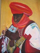 Acrylbild Afrika auf Leinwand im Keilrahmen - tolles Motiv