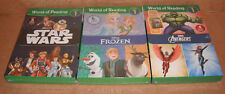 World of Reading Star Wars & Frozen & Avengers Boxed Sets Level 1 - 18 Books