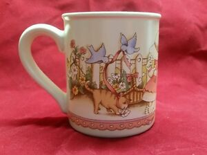 1990 Watkins Be My Valentine Country Kids Coffee Cocoa Java Chai Mug Cup #6 of 6