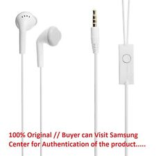 100%ORIGINAL SAMSUNG 3.5mm Jack EHS61ASFWE Handsfree Headset Earphones+Mic