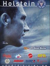 Programm 2004/05 KSV Holstein Kiel - Union Berlin
