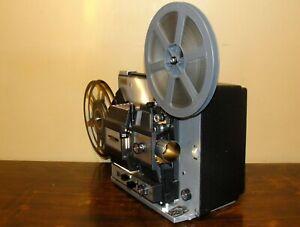 B&H 466A Super 8 & Standard 8mm Adjustable Speed Movie Projector  ~Serviced~