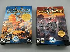 Ultima Online 7th Anniversary Ed + Samurai Empire Expansion (Pc, 2004) Bundle