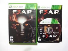 F.E.A.R. 3 (Microsoft Xbox 360, 2011) Complete cib