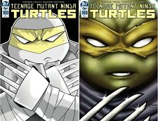 TMNT ONGOING #100 AOD COLLECTABLES SET OF 2 COVERS MENDOZA AND MCKAY PRE-ORDER
