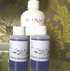 NSI Attraction Acrylic Nail Liquid 100ml Monomer Refil