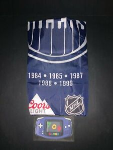 EDMONTON OILERS Coors Light NHL Stanley Cup Banner Brand NEW