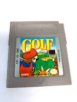 Mario Golf ORIGINAL NINTENDO GAMEBOY GAME Tested WORKING Authentic