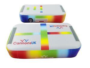 Cannons UK Air Track Pro Air Block Gymnastics Beam, Pink, Blue or Rainbow.