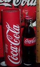 2016 COCA - COLA PULL OFF POP TOP no opener needed 8OZ GLASS TEST MARKET BOTTLE