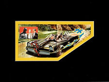 Japanese BATMAN ALBUM BATMOBILE PRINT PROFESSIONALLY MATTED