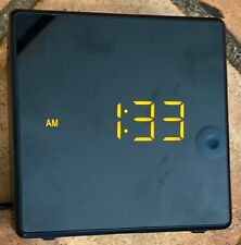 Sony ICF-C1 Dream Machine Alarm Clock AM/FM Radio Cube Black Dimmable/Snooze!