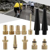 15Pcs/Kit Presta To Schrader Air Pump Bicycle Bike Valve Type Adaptor Converter