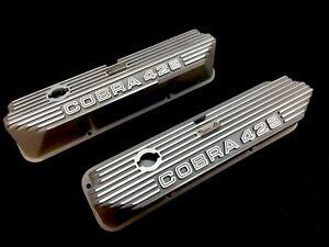 """Carroll Shelby Design Cobra 428 FE """"Open Letter"""" Valve Covers"""