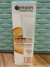 Garnier SkinActive Glow Boost Illuminating Moisturizer 2oz Apricot New In Box