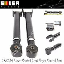 1 Pair Front Upper ADJ Control Arm for 93-98 Grand Cherokee 97-06 Wrangler