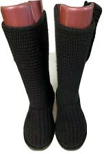 BEARPAW KNITTED LADIES BOOTS SIZE 5 38,Please See All Photos For Details