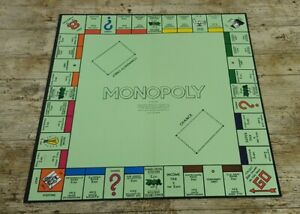 Vintage 1961 MONOPOLY Board Game Playing Board