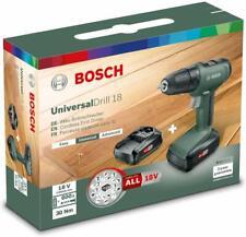 Bosch Akkuschrauber UniversalDrill 18 (2 Akkus, 18 Volt System, im Karton)