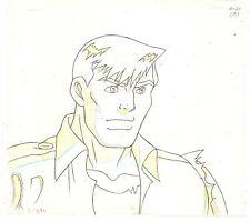 Cadillacs and Dinosaurs 1993 Animation Production Jack Tenrec Hand Drawn Pencil