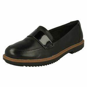 Damen Clarks Smart Slipper Halbschuhe Schuhe Raisie Arlle