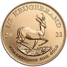 Krugerrand  1/2 Oz Gold 2021